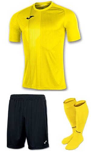 43873ffe25 SX Sports - Joma Tiger Kit - Yellow - Black (900)