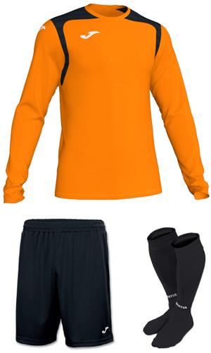 d75760ec4 SX Sports - Joma Champion V Long Sleeve Kit - Orange - Black (801)