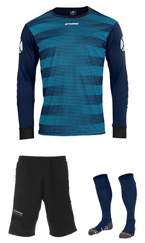 b65438e3f85 SX Sports - Stanno Tivoli Goalkeeper Kit - Navy - Black (7800)