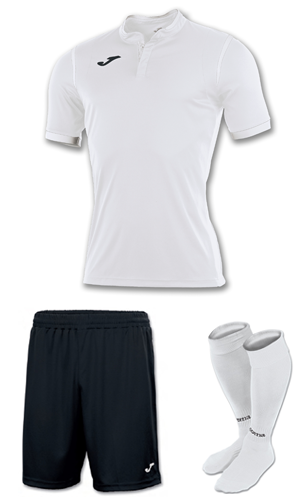 05422d90c57 SX Sports - Joma Toletum Short Sleeve Kit - White - Black (200)