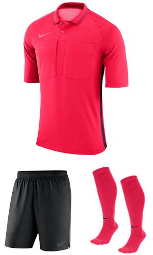 66d5371b38c SX Sports - Nike Short Sleeve Referee Kit - Siren Red - Bordeaux (653)