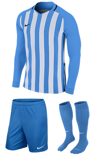 f8587988306 SX Sports - Nike Striped Division III Long Sleeve Kit - University Blue -  White (412)