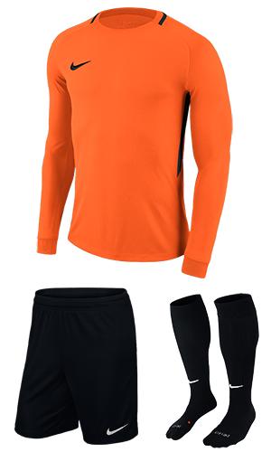 04740f868a49 SX Sports - Nike Park III Goalie Kit - Total Orange - Black (803)
