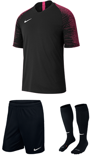 b97cb36eb20 SX Sports - Nike Strike Kit - Black - Vivid Pink (011)