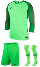 f1a62b8916f Nike Gardien Long Sleeve Goalkeeper Kit - Green Strike - Green Spark (398)