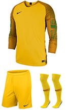 f03b4389c79 Nike Gardien Long Sleeve Goalkeeper Kit - Tour Yellow - University Gold  (719)