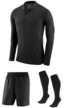 83ef26891fc Nike Long Sleeve Referee Kit - Black - Anthracite (010)